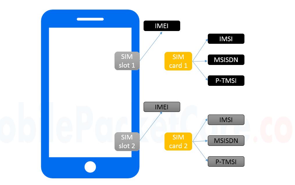 IMSI, MSISDN, IMEI, P-TMSI - Mobile Identifiers - Mobile Packet Core